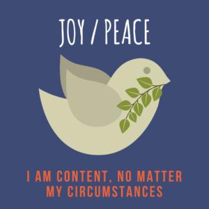 joy : peace